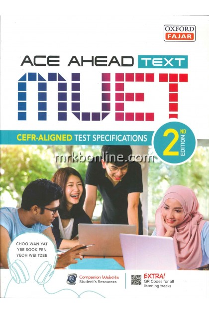 [2021] ACE AHEAD TEXT  MUET 2nd Edition